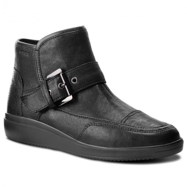08c399590972f Boots GEOX - D Tahina A D84BDA 0TU9D C9999 Black - Boots - High ...