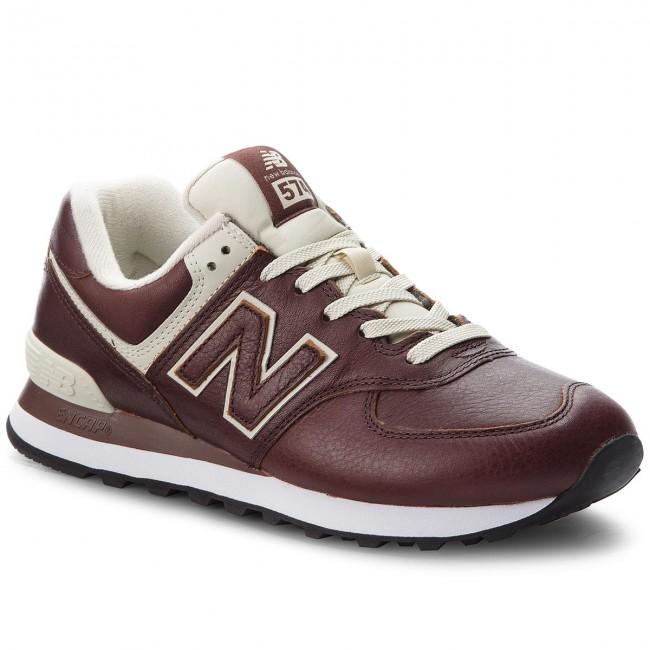932e4a58efa41 Sneakers NEW BALANCE - ML574LPB Brown - Sneakers - Low shoes - Men s ...