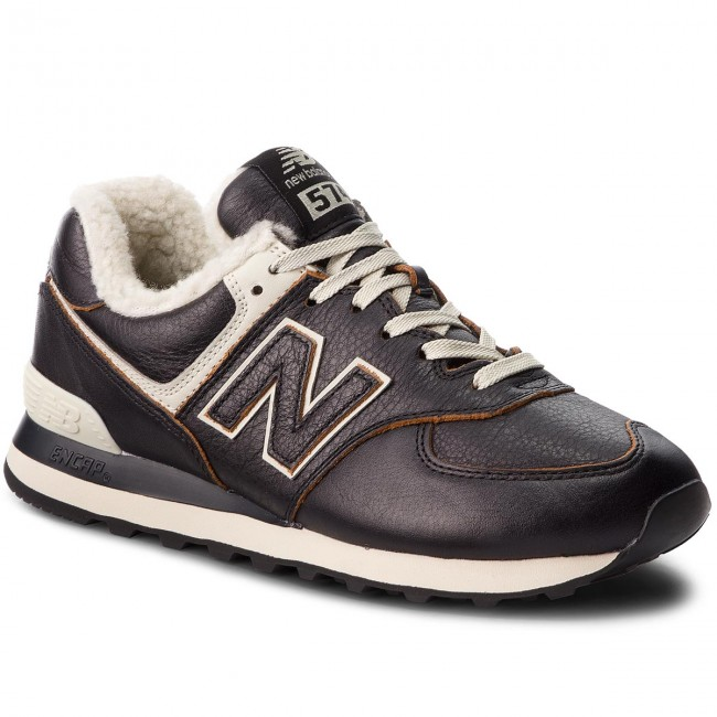 Sneakers NEW BALANCE - ML574WNE Black - Sneakers - Low shoes - Men s ... 19be65a6ae