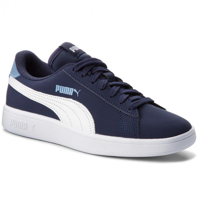 Sneakers PUMA - Smash v2 Buck Jr 365182 02 Peacoat/Puma White mQK8jNvlf