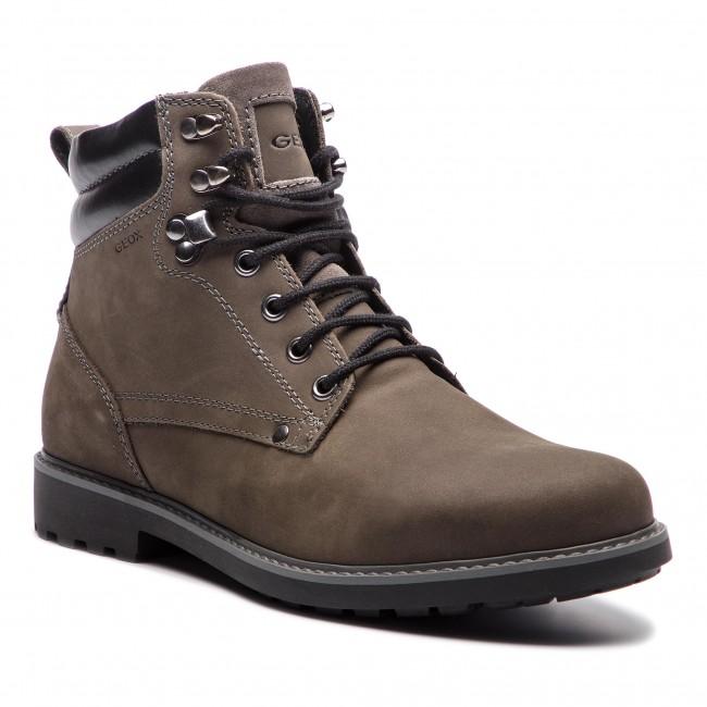 d9cb581c Knee High Boots GEOX - U Norwolk A U84E2A 00032 C9002 Dk Grey ...