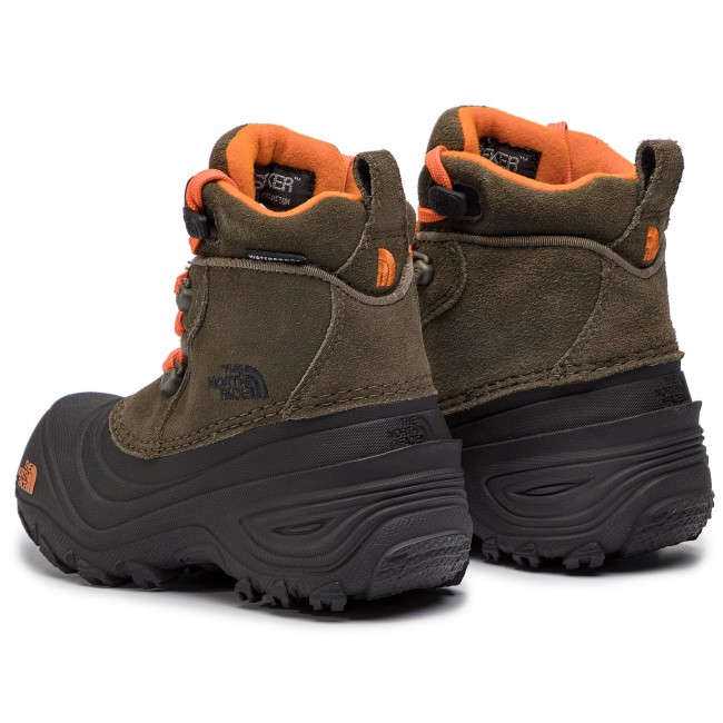 c617acaa05 Snow Boots THE NORTH FACE - Youth Chilkat Lace II T92T5R5QB Tarmac  Green Scarlet Ibis