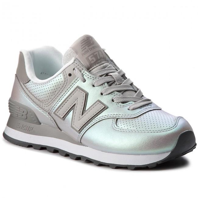 Sneakers NEW BALANCE - WL574KSC Silver