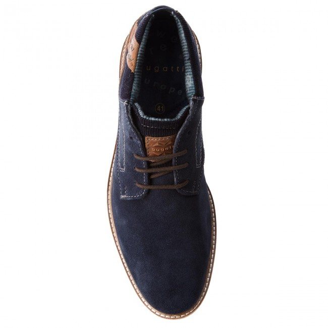 f9daea4438af Boots BUGATTI - 311-60931-1412-4163 Dark Blue Cognac - Boots - High boots  and others - Men s shoes - www.efootwear.eu