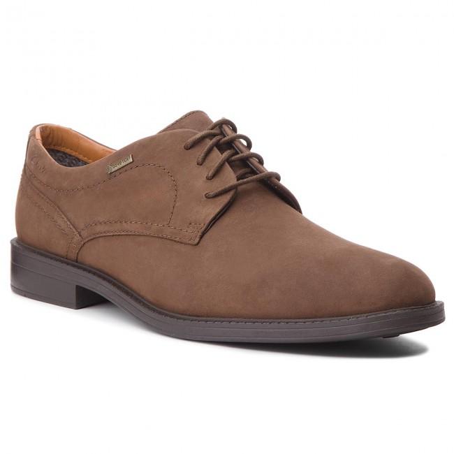 Shoes CLARKS Chilverwalkgtx GORE TEX 261101447 Dark Brown
