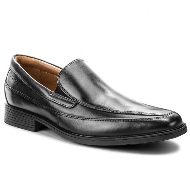 4801a844fec Shoes CLARKS - Tilden Free 261103127 Black Leather - Formal shoes ...