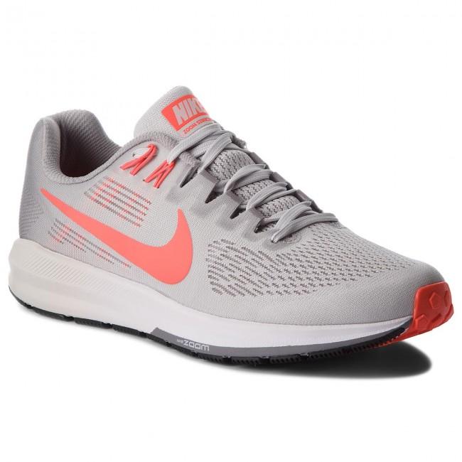 3bdee00da859 Shoes NIKE - Air Zoom Structure 21 904695 006 Vast Grey Bright Crimson