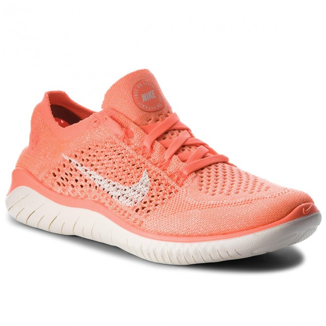 b9d29f2b527 Shoes NIKE - Free Rn Flyknit 2018 942839 801 Crimson Pulse Sail ...