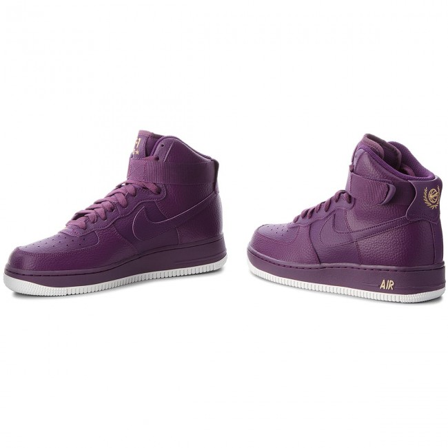 separation shoes 987a0 6d141 Shoes NIKE - Air Force 1 High  07 315121 500 Night Purple Night Purple