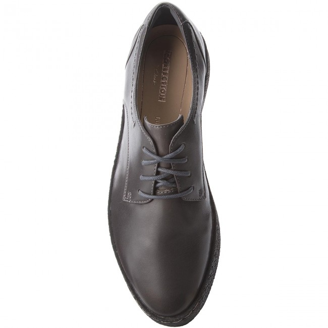Shoes CLARKS Lillia Lola 261351224 Dark Grey Leather