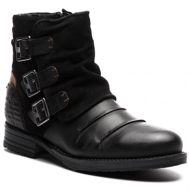 Jackboots 43a801 Knee Black And High Boots Lanqier jL34AR5