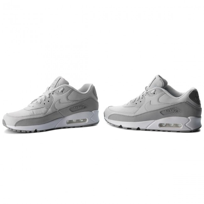 best service 15718 c599f Shoes NIKE - Air Max 90 Essential 537384 088 Wolf Grey Pure Platinum White