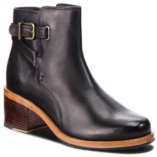 CLARKS Jax 261359804 Clarkdale Boots Leather Black qY6PqT