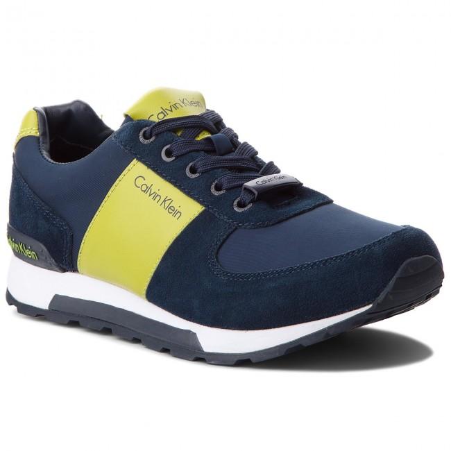 15100e529b Sneakers CALVIN KLEIN JEANS - Dusty SE8448 Navy Citro - Sneakers ...