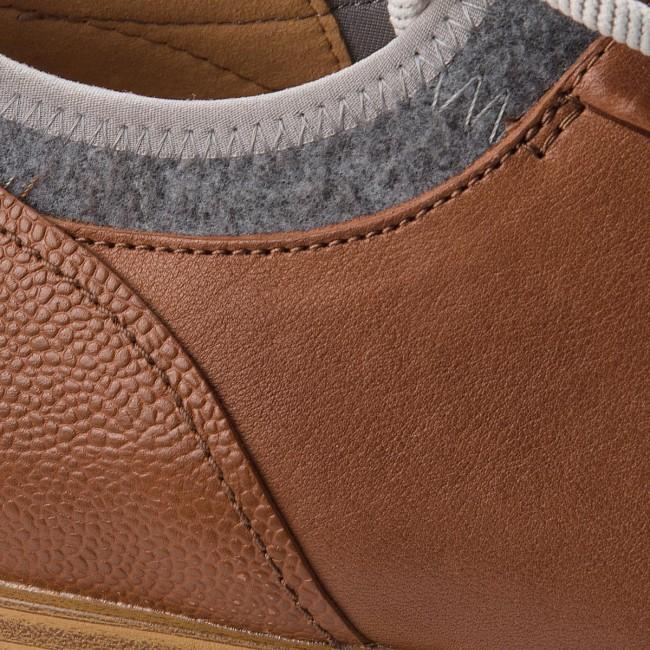 Sneakers Leather Clarks Dark Fuse Tan Hero 26136171 808UZq