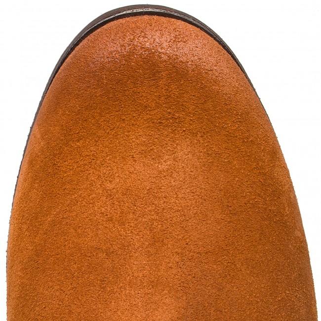 Boots CLARKS Maypearl Fawn 261363284 Dark Tan Suede