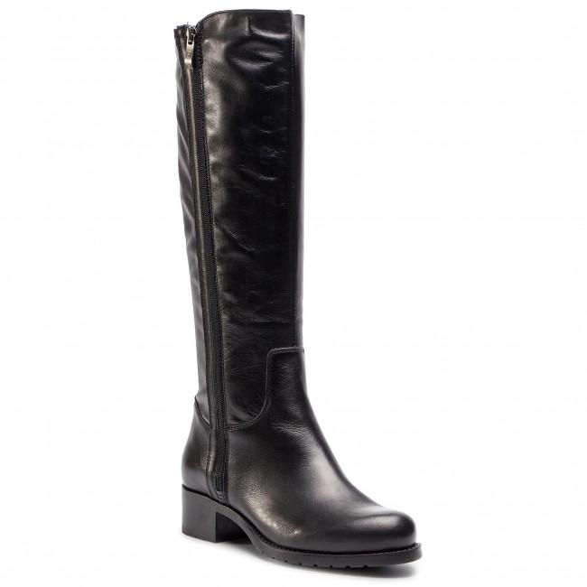 High Pollonus Czarny 5 Knee 1026 Lico Jackboots Boots 001 VpUzMS