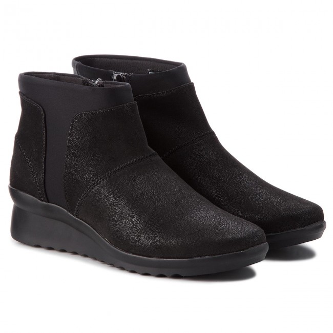 40fb246b91b7 Boots CLARKS - Caddell Sloane 261378624 Black Synthetic - Boots - High boots  and others - Women s shoes - www.efootwear.eu