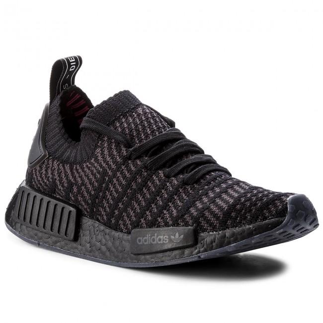 871b84f59cc16 Shoes adidas - Nmd R1 Stlt Pk CQ2391 Core Black Utility Black Solar ...