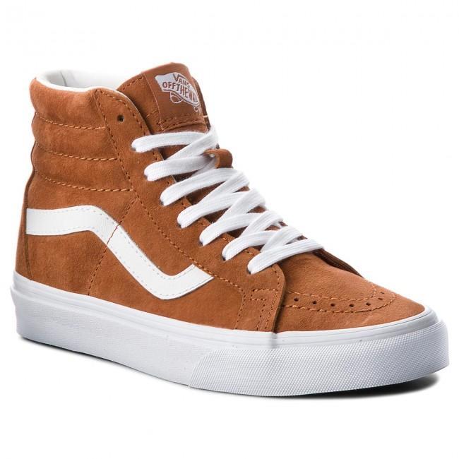 Sneakers VANS - Sk8-Hi Reissue VN0A2XSBU5K (Pig Suede) Leather Brown ... 74a1aa793