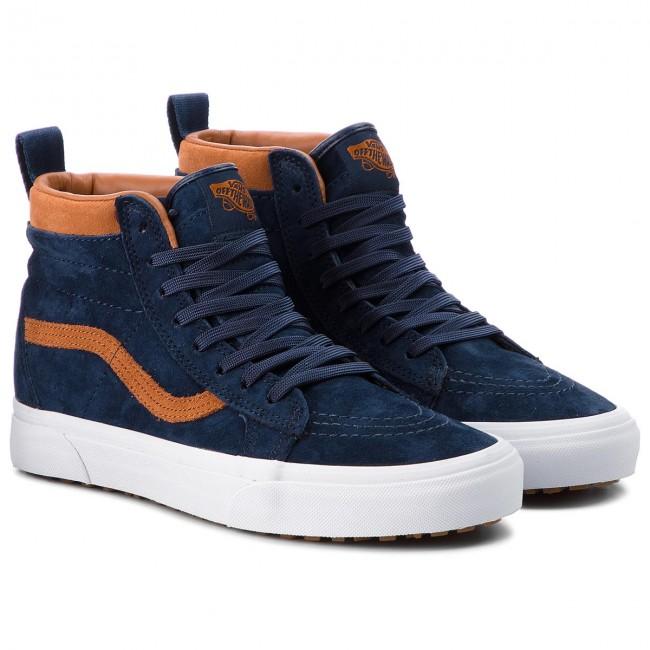 Vans SK8 Hi MTE ((MTE) SequoiaGum) Skate Shoes. Keep your