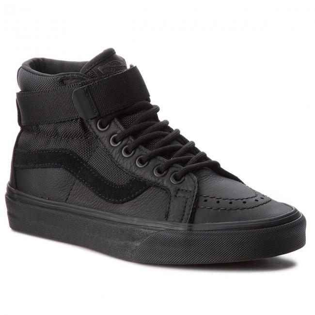 afc84b6a7d Sneakers VANS - Sk8-Hi Reissue VN0A3QY2UB4 (Leather) Ballistic Black ...