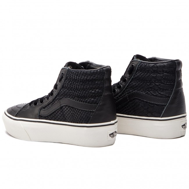 1ed22d07d4 Sneakers VANS - Sk8-Hi Platform 2 VN0A3TKNUQF1 (Leather) Snake Black ...