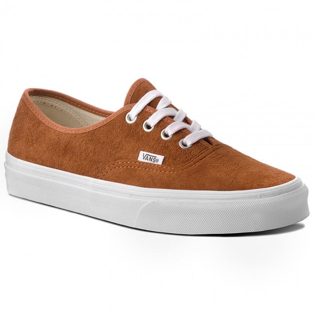 Plimsolls VANS Authentic VN0A38EMU5K (Pig Suede) Leather Brown