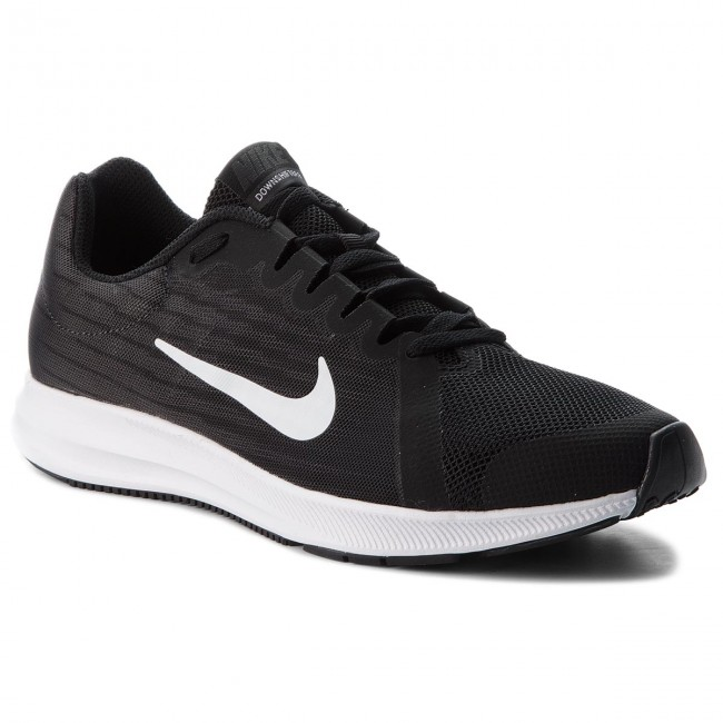 273572bb7cfd0 Shoes NIKE - Downshifter 8 (GS) 922853 001 Black White Anthacite ...