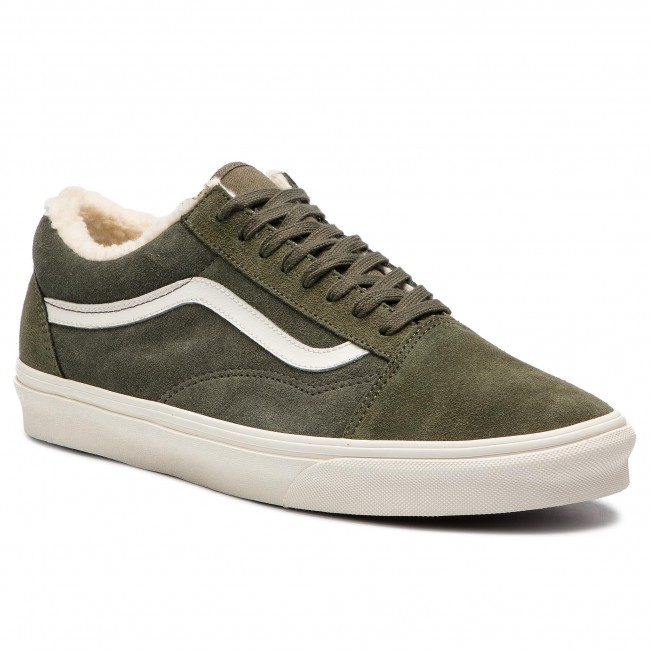 e7d03988b1e Plimsolls VANS - Old Skool VN0A38G1ULZ1 (Suede Sherpa) Grape Leaf ...