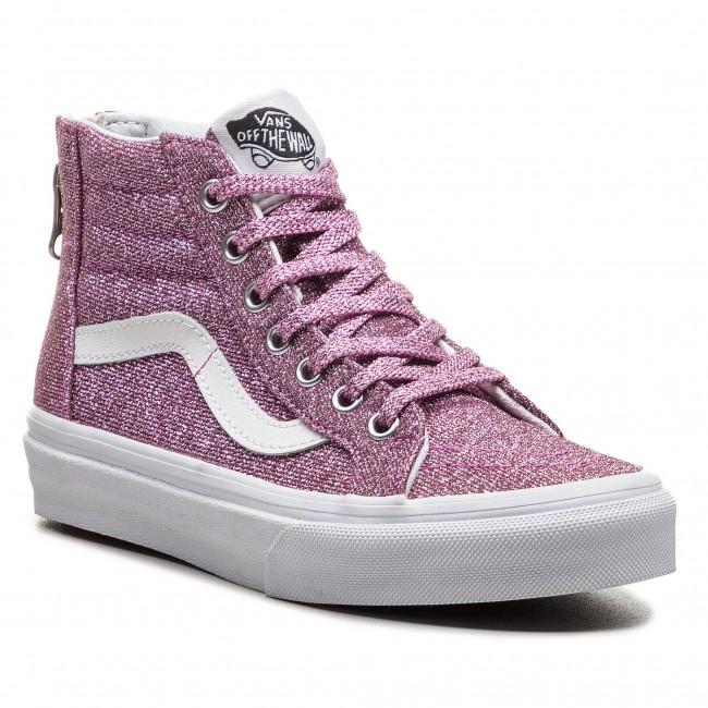 64486d48d2 Sneakers VANS - Sk8-Hi Zip VN0A3276U3U (Lurex Glitter) Pink True ...
