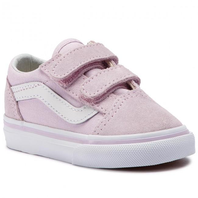 bc688dcc45dc Sneakers VANS - Old Skool V VN0A344KUJM1 Lavender Fog True White ...