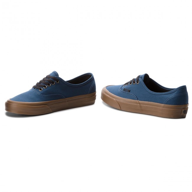 219e5665352 Plimsolls VANS - Authentic VN0A38EMU4C (Gum Outsole) Dark Denim ...