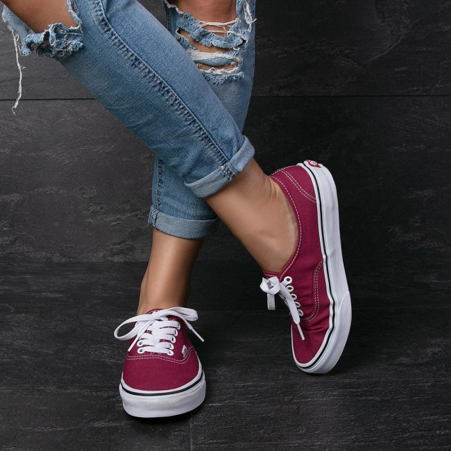 027f4cadab16 Plimsolls VANS - Authentic VN0A38EMU64 Dry Rose True White - Sneakers - Low  shoes - Women s shoes - www.efootwear.eu