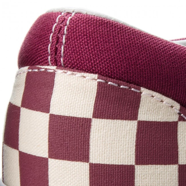 c1b1873e49cb Plimsolls VANS - Classic Slip-On VN0A38F7U7A (Checkerboard) Dry Rose ...