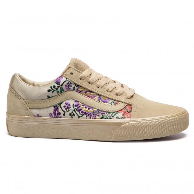 Festival Satin) Gold/Bla - Sneakers