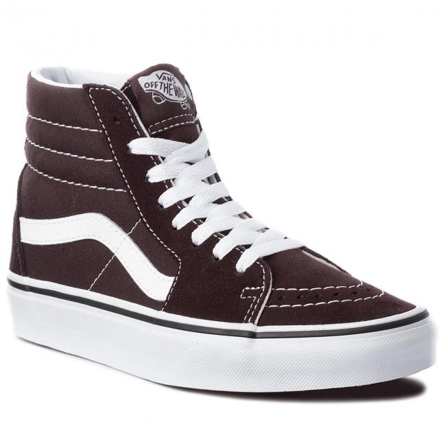 99c8c3bae5f Sneakers VANS - Sk8-Hi VN0A38GEU5Z Chocolate Torte True Whit ...