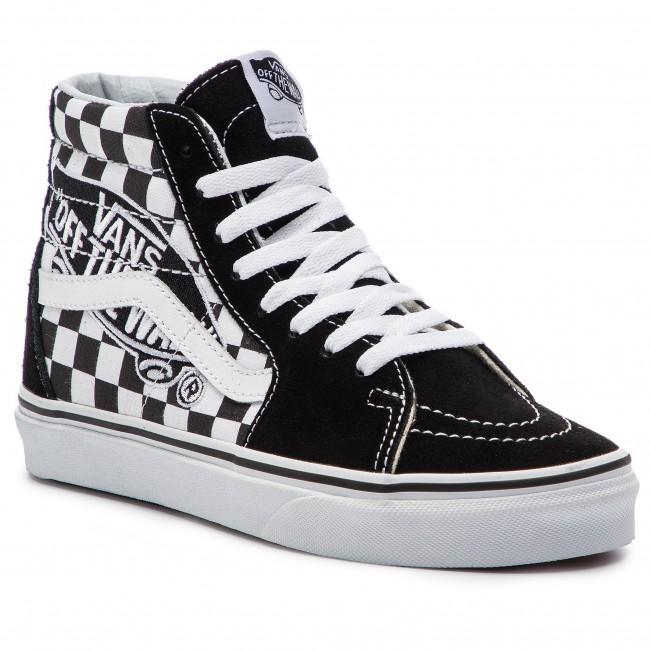 Sneakers VANS - Sk8-Hi VN0A38GEUPV1 (Vans Patch) Black True W ... bf85c0ea3b