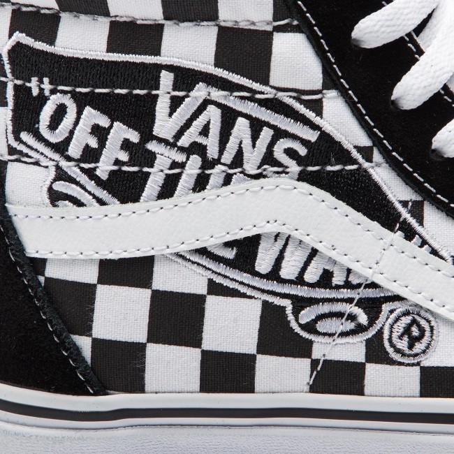 Sneakers VANS Sk8 Hi VN0A38GEUPV1 (Vans Patch) BlackTrue W