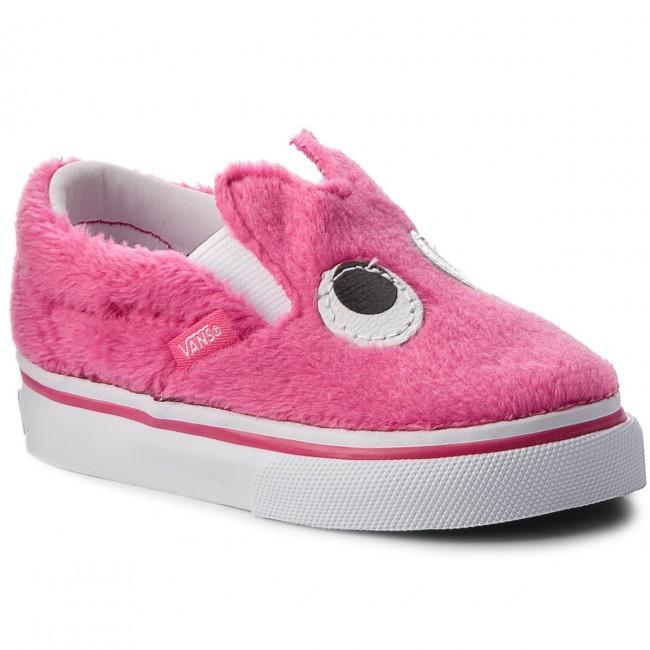 dca23fa087 Shoes VANS - Slip-On Friend VN0A3TK4U4U (Party Fur) Magenta True ...