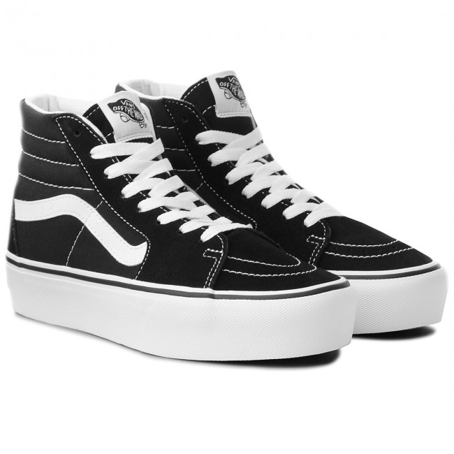 Sneakers VANS Sk8 Hi Platform 2 VN0A3TKN6BT BlackTrue White