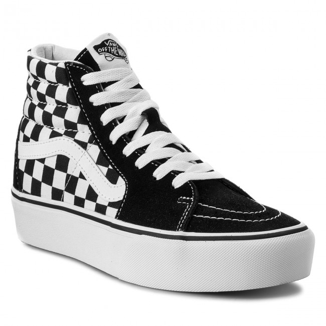 724855dce1cd Sneakers VANS - Sk8-Hi Platform 2 VN0A3TKNQXH Checkboard True White ...