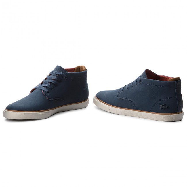 ab6499834 Boots LACOSTE - Esparre Chukka 318 1 Cam 7-36CAM00202Q8 Nvy Brw ...