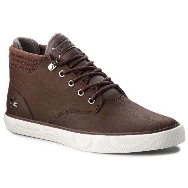 39d1fce6626a Sneakers LACOSTE - Esparre Winter C 318 3 Cam 7-36CAM00222E2 Dk Brw ...