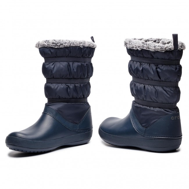 1a5706af3796f Snow Boots CROCS - Crocband Winter Boot W 205314 Navy - Winter boots ...