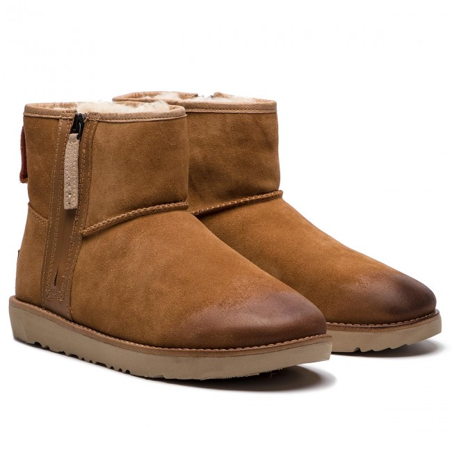 Shoes Ugg M Classic Mini Zip Waterproof 1018453 Mche Winter
