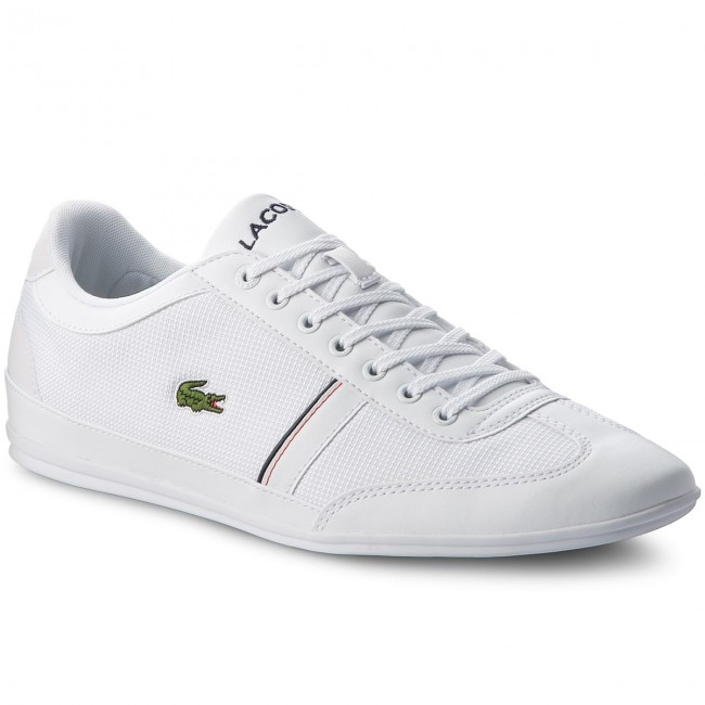 af51121c5 Sneakers LACOSTE - Misano Sport 318 1 Cam 7-36CAM0057042 Wht Nvy ...