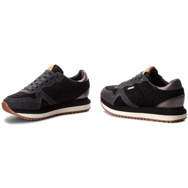 Jeans 999 Sneakers Low Pepe Pls30788 Black Zion Lux T3FKl1Jc