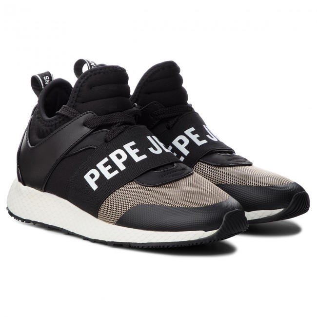 Logo Pepe Sneakers Jeans Black 999 Koko Low Pls30741 g6yvYbf7