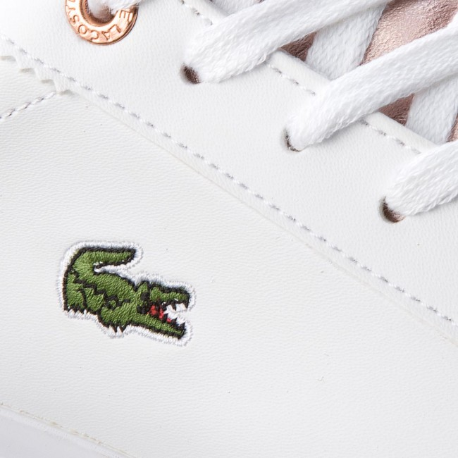 9ca20fa82 Sneakers LACOSTE - Lerond 318 3 Caj 7-36CAJ0014B53 Wht Pnk ...